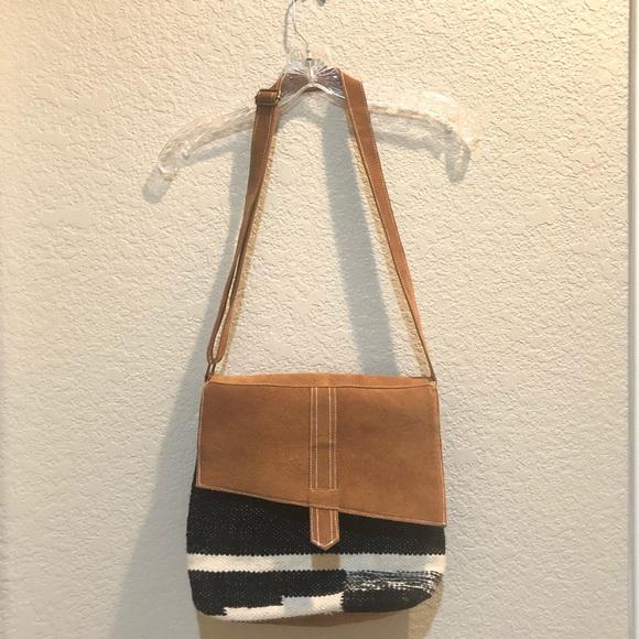 Fabulous MJ New York Handbags - Suede   Knit CrossBody 98372f91086e7